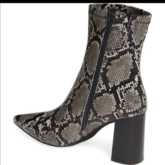 aa2834887 Jeffrey Campbell Shoes   Nwt Coma 3 Block Heel Booties   Poshmark